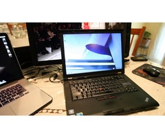 OKAZJA!!! Laptop Lenovo ThinkPad T410 i5-520M - Dysk SSD - 4 GB RAM DDR3 + stacja dokująca
