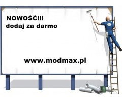 Modmax - ogłaszaj się za darmo