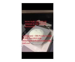 Pure CBD Isolate powder 99%.